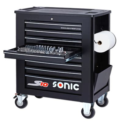 Sonic S10 tool cart filled 391-pieces - MST-Design Water
