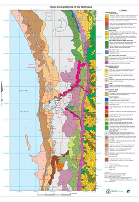 """""""Soils and Landforms of the Perth Area - Western Australia"""