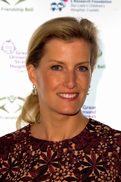 Sophie, Countess of Wessex attend The Friendship Ball In