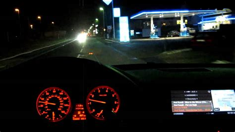 BMW X6 50i driving at night part 2 - YouTube