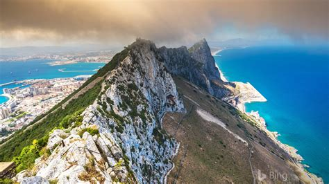View of the Rock of Gibraltar 2018 Bing Preview