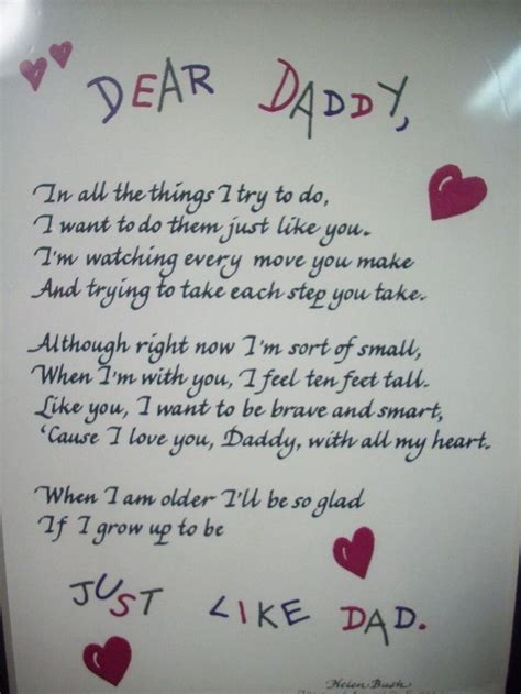 25 Touching Fathers Day Poems From Kids