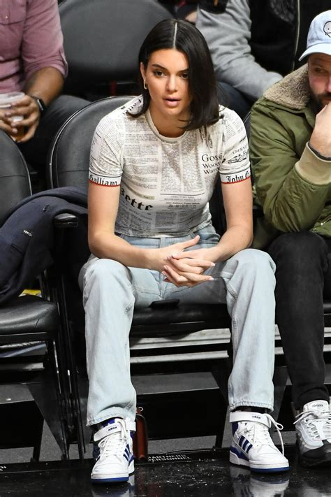 Kendall Jenner Back Courtside to Cheer on BF Blake Griffin