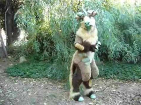 """Mythic Forest Creature Costume """"Muse"""" - YouTube"""