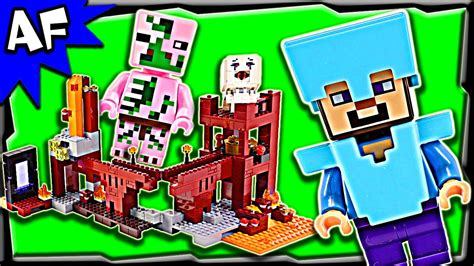 Lego Minecraft NETHER FORTRESS 21122 Stop Motion Build