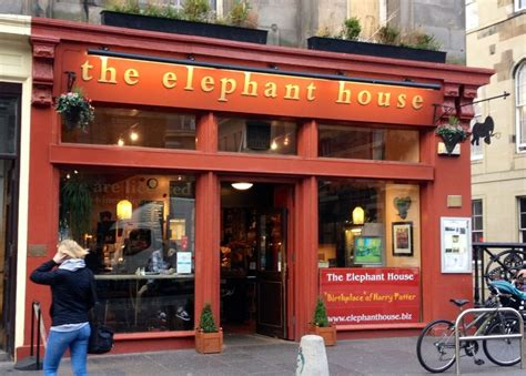 The Elephant House - birthplace of Harry Potter