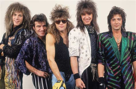 Bon Jovi 80s Hair Band Pictures, Albums & History | 80s