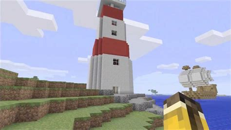 How To Build A Lighthouse - Minecraft Xbox 360 Edition