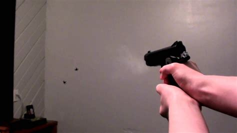 After Effects - Shooting My Wall - Muzzle Flash & Bullet