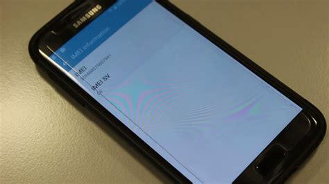 How To Find The IMEI on Samsung Galaxy S7 - YouTube
