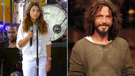 Chris Cornell's Daughter, 12, Honors Late Dad and Linkin