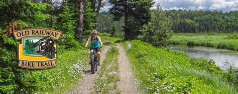 Riding the Old Railways Bike Trail - Algonquin Outfitters
