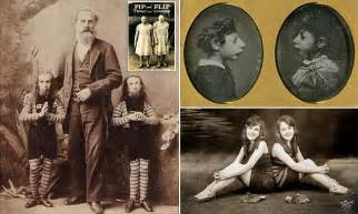 Stars of 19th century Freak Shows in the US are revealed