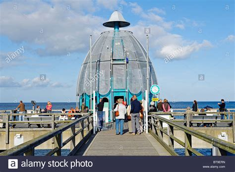 Diving Bell At The Pier In The Baltic Resort Sellin