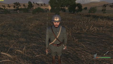 French Officer image - Iron Europe - WW1 Mod for Mount