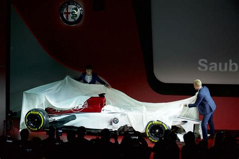 Alfa Romeo Sauber F1 Officially Launches With New Livery
