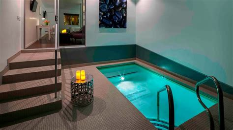 Private Pool in Your Hotel Suite - Aqua Soleil Hotel and