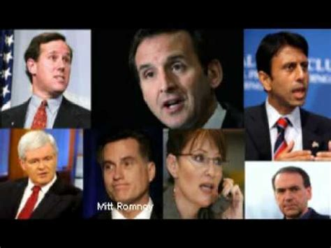 Republican Presidential Candidates for 2012 Who will It be