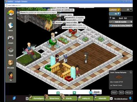 New Game [Habbo] Carreras De Carros [Juego Wired] - YouTube