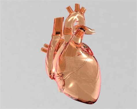3D Guide - The Making Of glass heart - Pxleyes