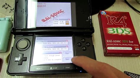 Wifi R4i SDHC 3DS Firmware Upgrade for 3DS Ver 4