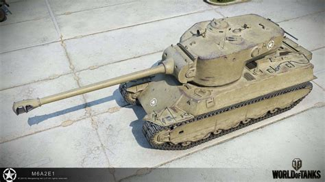 World of Tanks M6A2E1 hd reworked model | MMOWG