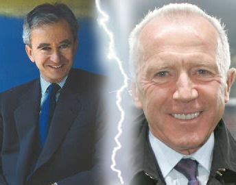Why are François Pinault and Bernard Arnault described as