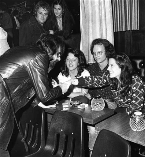 J Geils Band Party at Strip Club - Senoff's 1970s West