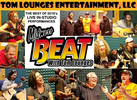 """""""BEST OF MIDWEST BEAT WITH TOM LOUNGES LIVE IN-STUDIO"""