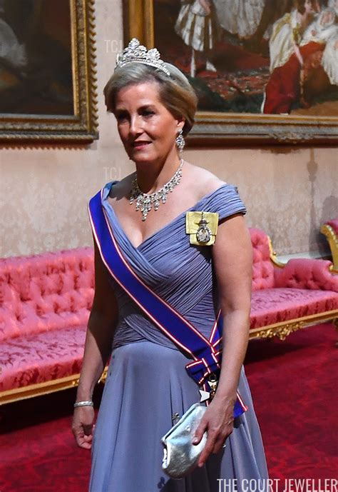State Banquet Jewels at Buckingham Palace   Lady louise
