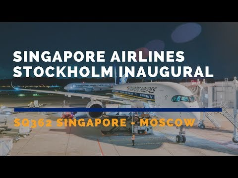 Review: Singapore Airlines Business Class A350 Stockholm