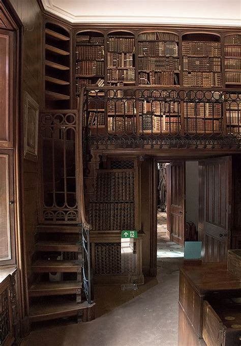 Library, Abbotsford House, England Dream library! - A