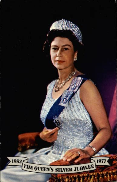 The Queen's Silver Jubilee, 1952--1977 Royalty
