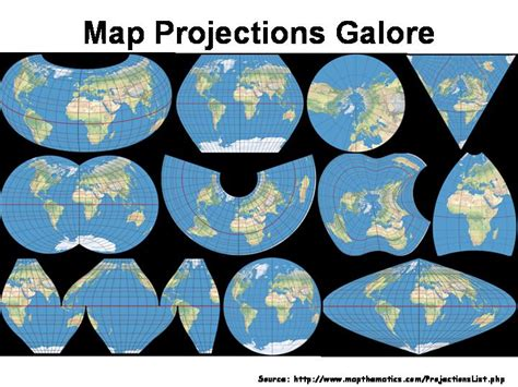 What is the Mercator Projection and The True Sizes of