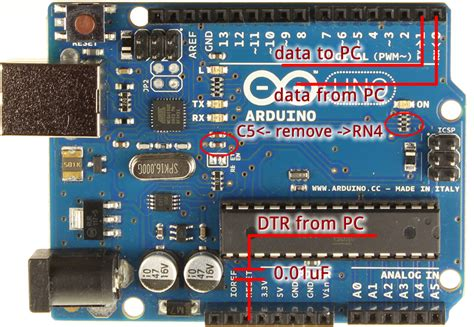 Arduino Uno – Programming With A Serial Port -Use Arduino