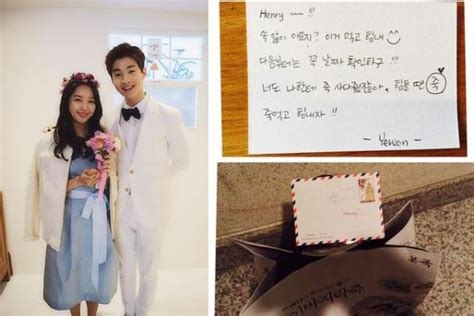 Henry Writes Sweet Messages to Yewon and Fans After Final