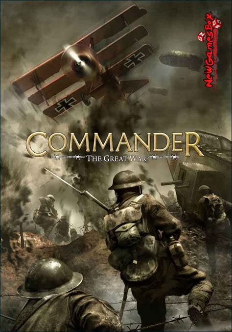 Commander The Great War Free Download Full PC Game Setup
