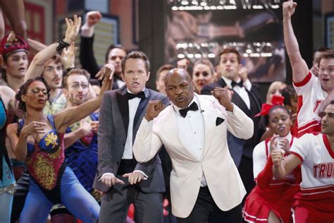 Mike Tyson steals the show from Neil Patrick Harris during