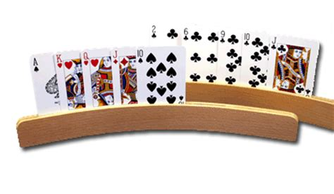 Curved Wooden Card Holders