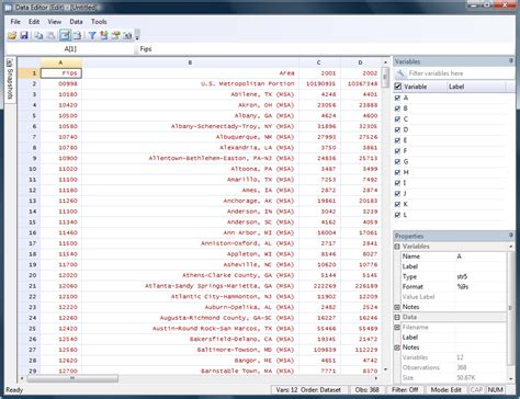 The Stata Blog » Using import excel with real world data