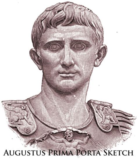 Bust of Augustus Caesar - Biblical Archaeology in Rome