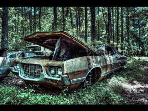Ford Gran Torino 1972 old car forest vehicle - YouTube
