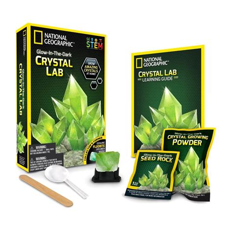 National Geographic, Glow In The Dark Crystal Kit