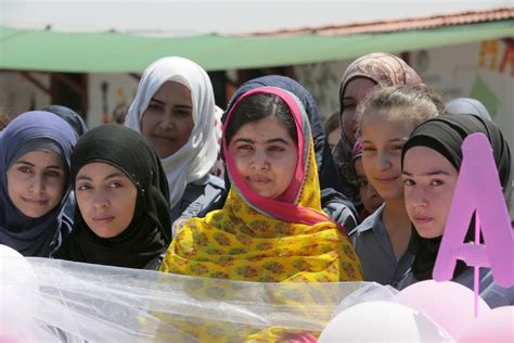 Malala opens school for Syrian refugee girls on 18th