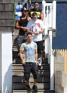 Jersey Shore cast return from shopping trip to find gay