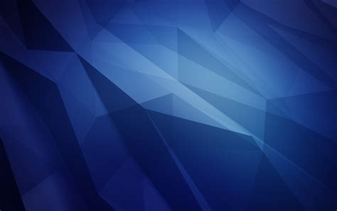 Wallpaper Polygons, Blue, Shapes, HD, Abstract, #11848