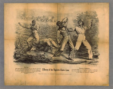 Effects of the Fugitive-Slave-Law · The News Media and the
