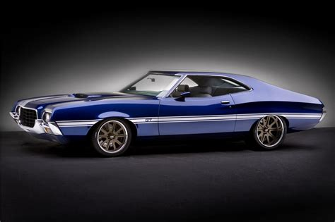 1972 FORD TORINO GT CUSTOM SPORTSROOF COUPE