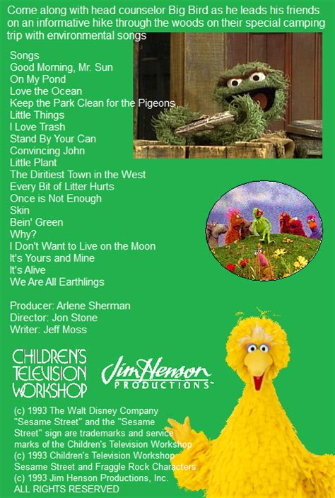 Disney Sing Along Songs: We Are All Earthings at