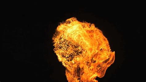 Fire Ball in Slow Motion HD with Slow Mo Video Views of